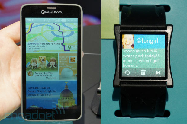 This is cool: Qualcomm shows off its Mirasol display