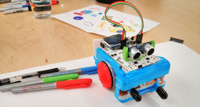 An arduino based robot for people who don t know how to