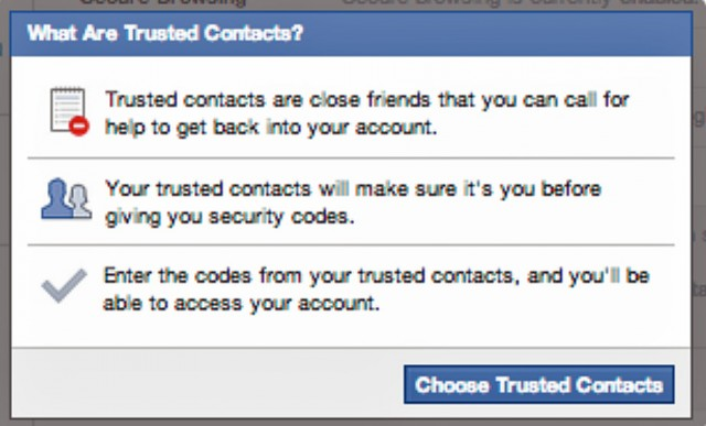 For anyone who has ever forgotten a password, Facebook has help