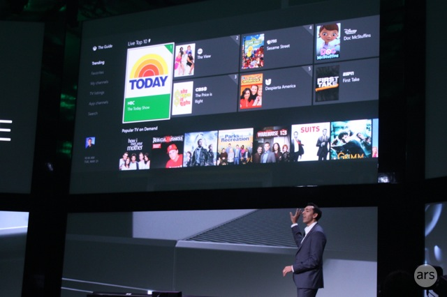 Microsoft loved itself some TV in the Xbox One unveiling. It wants not only more TV, but TV all to itself.