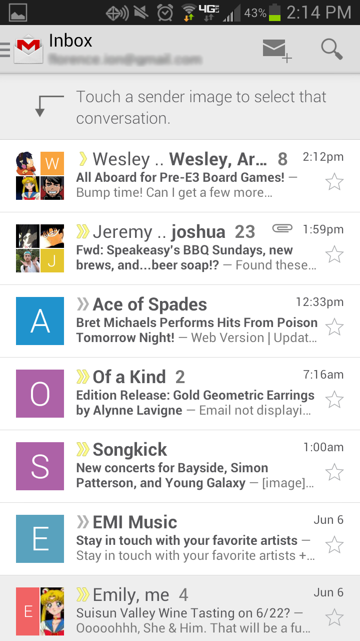 This week in Android apps: Facebook Home adds a dock and Gmail gets