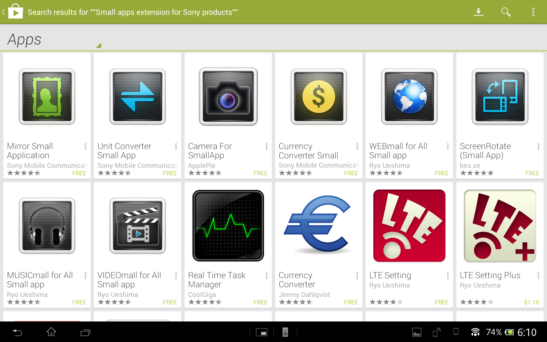 ...and the apps that can be used with it.
