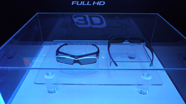 3D glasses: the living room accessory you (probably) never wanted.