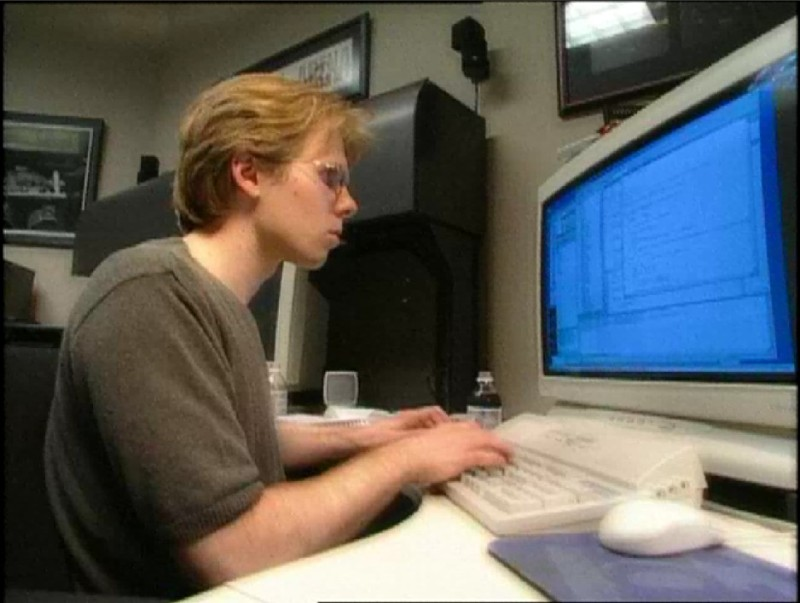 We imagine that most of Carmack's days are spent like this.