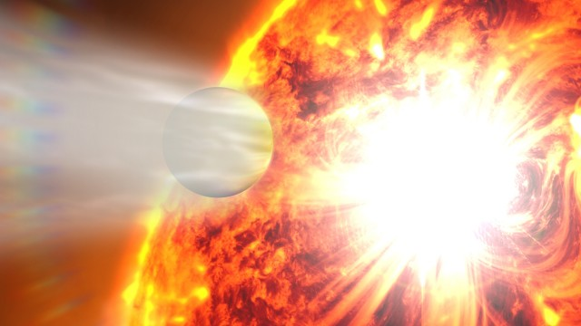 Some hot Jupiters orbit so close to their host stars that their atmospheres are boiling off.