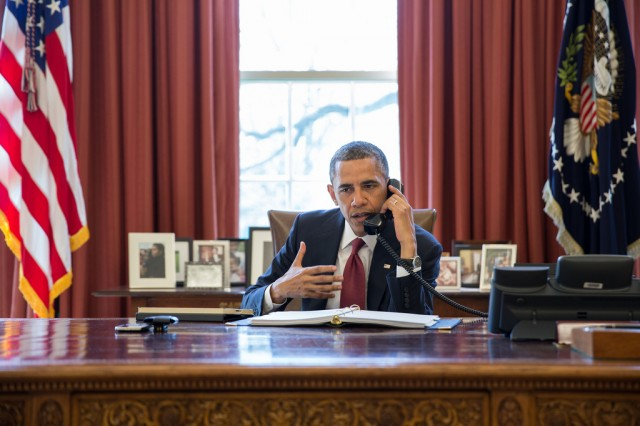 "Obama defends digital spying: ""I think we've struck the right balance"""