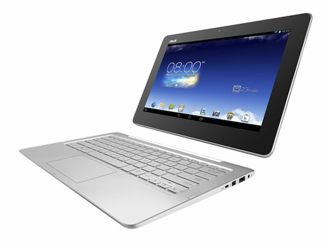 The Asus Transformer Book Trio takes the dockable tablet concept to the next level.