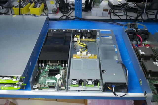 "Facebook's homebrew database server design, based on Windmill motherboards, carries power supplies for high-availability. It's replacing the last ""vanity"" hardware in Facebook's inventory."
