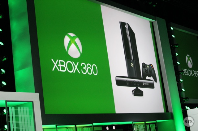 The revamped Xbox 360 hardware.