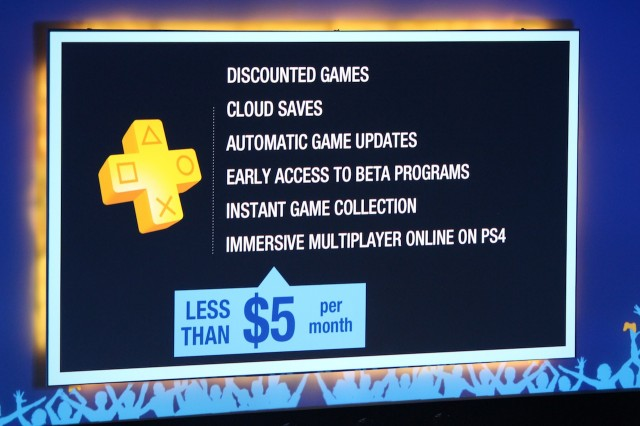 PS4 owners will need PlayStation Plus subscription for online multiplayer