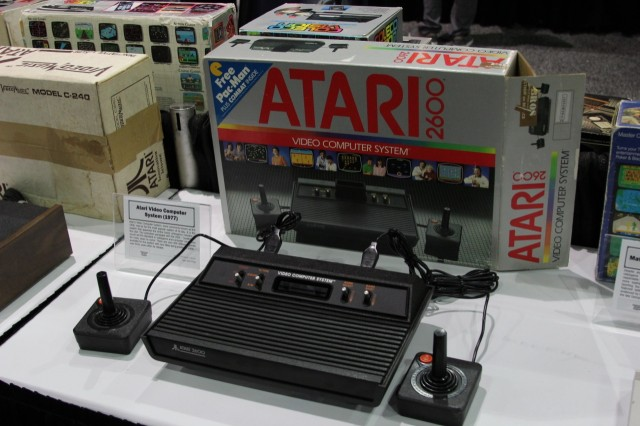 The Atari 2600 (originally sold as the Atari Video Computer System, or VCS) was by far the most popular console of its era. It did much to popularize switchable cartridge-based games. Despite many efforts, Atari would never again replicate its success.