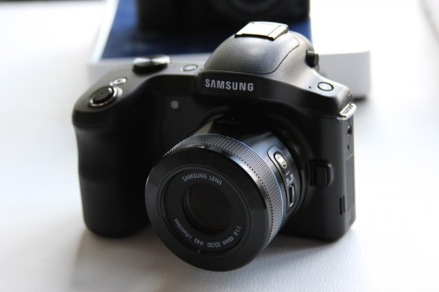 Samsung's new Galaxy NX combines Android with a competent midrange shooter.