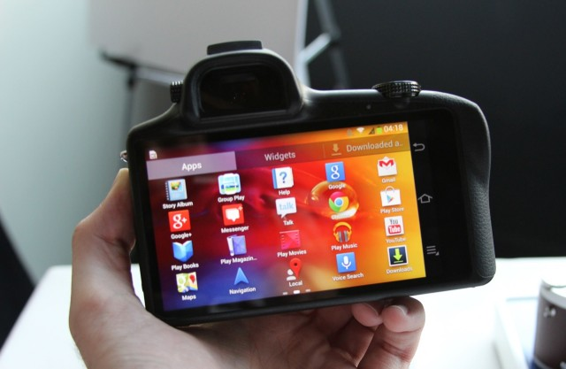 It's a camera, but it's also an Android device through and through.