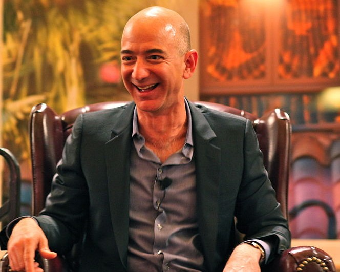 Amazon founder and CEO Jeff Bezos.