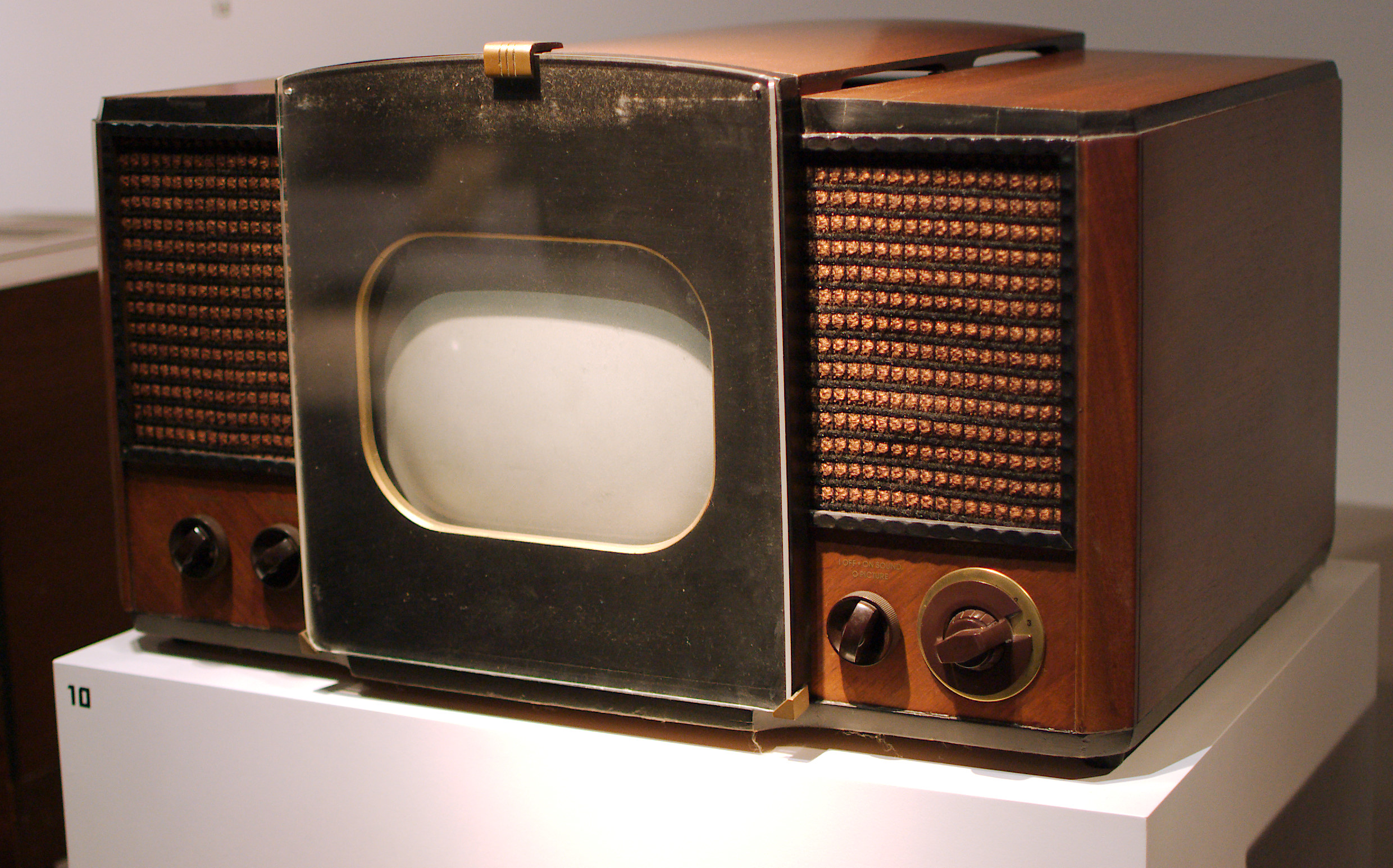 The RCA 630TS, the first mass-produced TV.