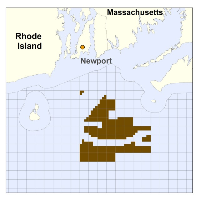 The two sites, located south of the Massachusetts/Rhode Island border.
