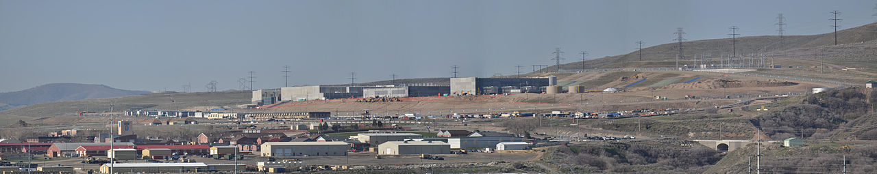 The NSA's Data Center under construction in Bluffdale, Utah will have a storage capacity measured in zettabytes.