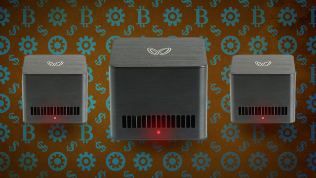 We Take A Butterfly Labs Bitcoin Miner Plug It In And Make Virtually Rain