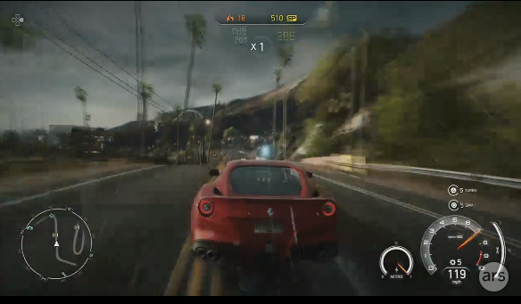 <em>Need for Speed</em> will up the multiplayer ante with ad-hoc mid-race competitions.