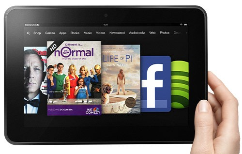 Kindle Fire HD.