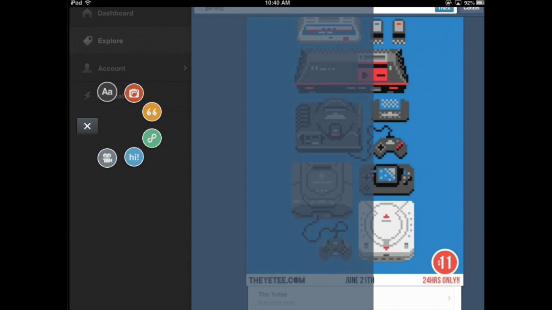 UX Spotlight: Behind the scenes of Tumblr's design process