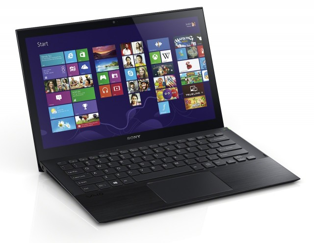 The Vaio Pro 13 is the larger of the two ultra-thin Ultrabooks Sony announced this week.