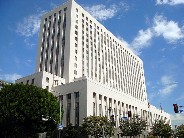 Los Angeles federal courthouse