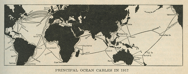 Undersea cables have been a communications fixture for a long time.