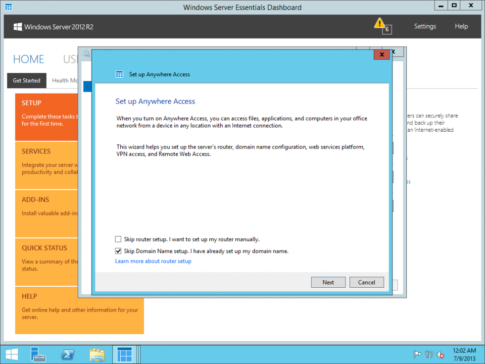 Windows Server 2012 R2 Preview: Your cloud on-ramp is under