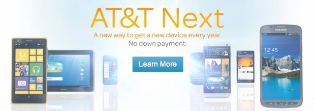 "AT&T bites T-Mobile's style with its ""AT&T Next"" upgrade program."