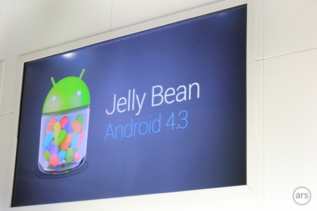Google announces Android 4.3, the latest incremental Jelly Bean update