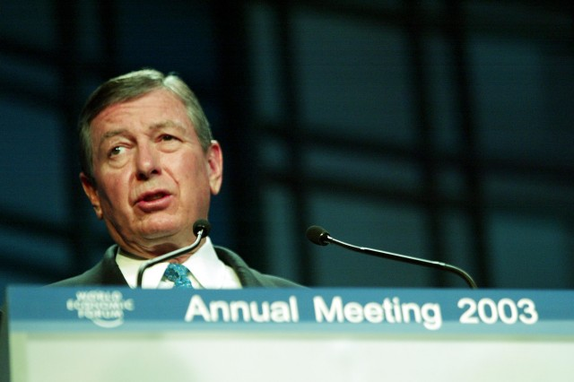 Former Attorney General John Ashcroft in 2003.