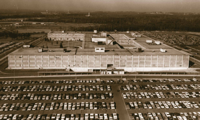 NSA building in the 1950s.