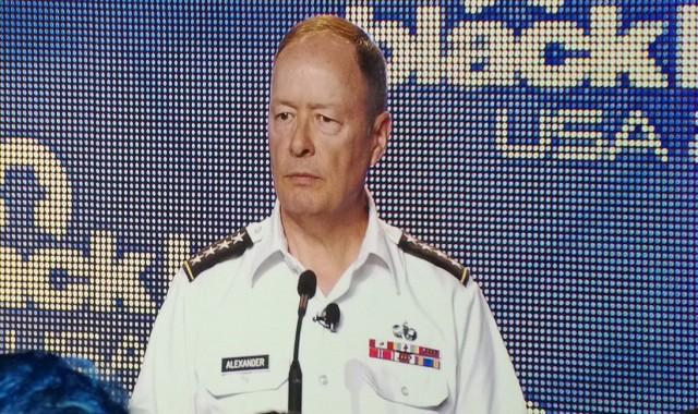NSA Director General Keith Alexander.