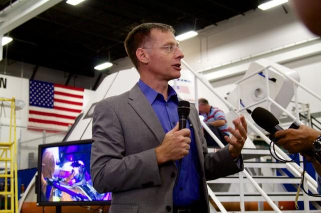 Boeing VP (and former astronaut) Chris Ferguson.