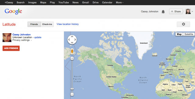 The latest killing in the name of Google+: Google Latitude.