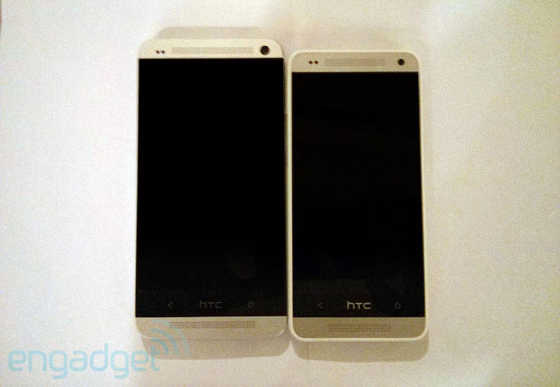HTC One mini leaks, courtesy of Engadget.