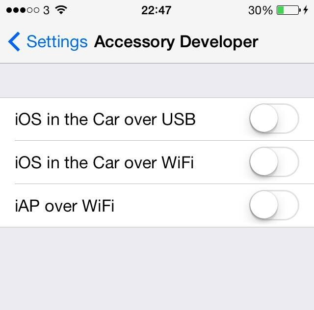 "A leaked screenshot of the latest iOS 7 beta is our first indication of how the ""iOS in the Car"" feature might work."