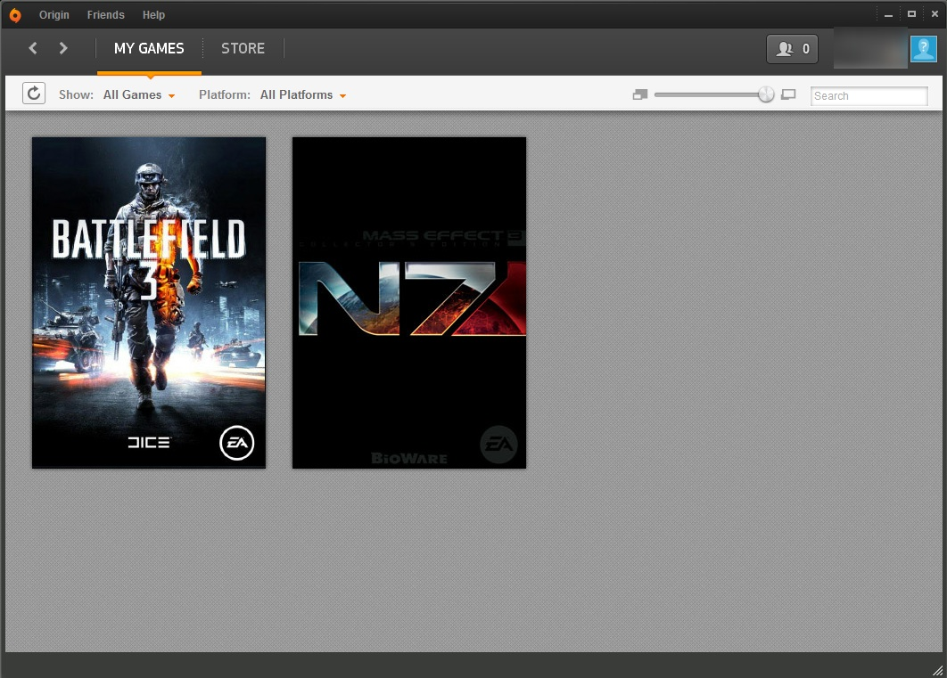 My Origin library looks like this, because these are the games I wanted and couldn't buy anywhere else.