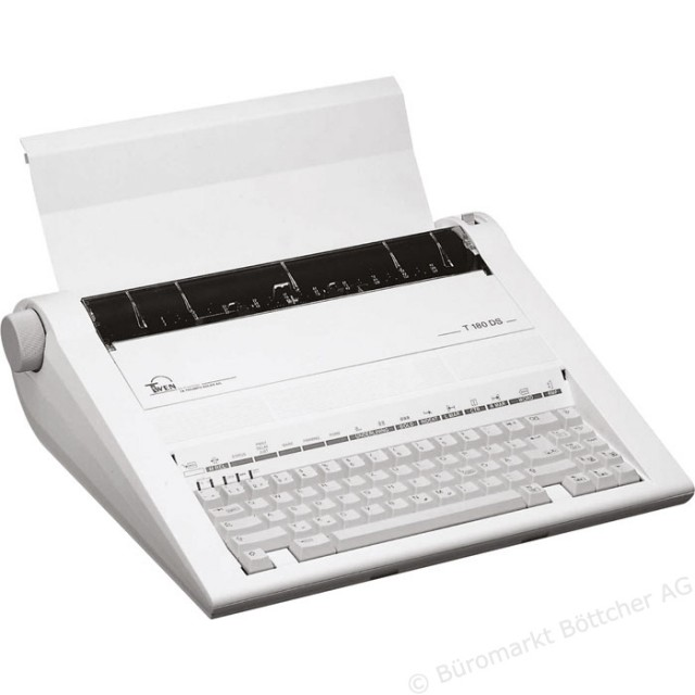 At least one German website is still selling the Triumph-Adler Twen 180 electric typewriter.