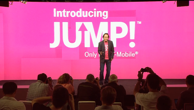 T-Mobile's new service plan gives customers two upgrades per year