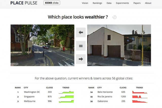 Online tool used to map emotional responses to urban areas