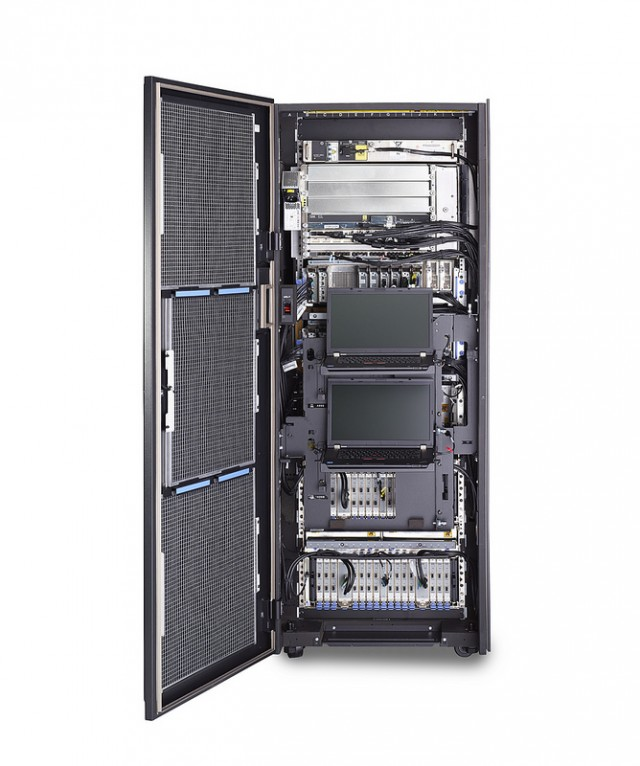 A peek inside the zB12's rack.