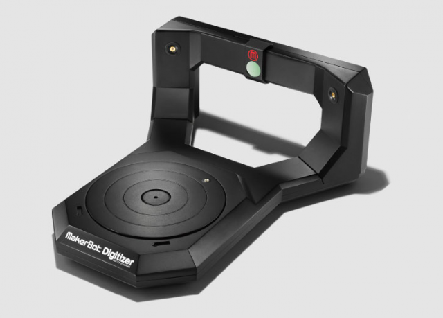 MakerBot's new 3D scanner will run you $1,500 and ship in October