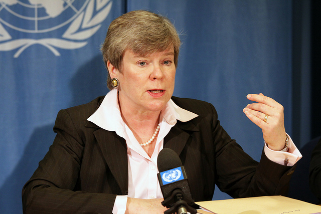 Under Secretary Rose Gottemoeller (of the State Department's AVC Bureau) wants your help keeping countries honest.