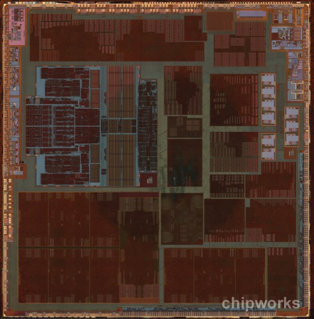 The die shot of Apple's A6 system-on-a-chip. What will the follow-up look like?
