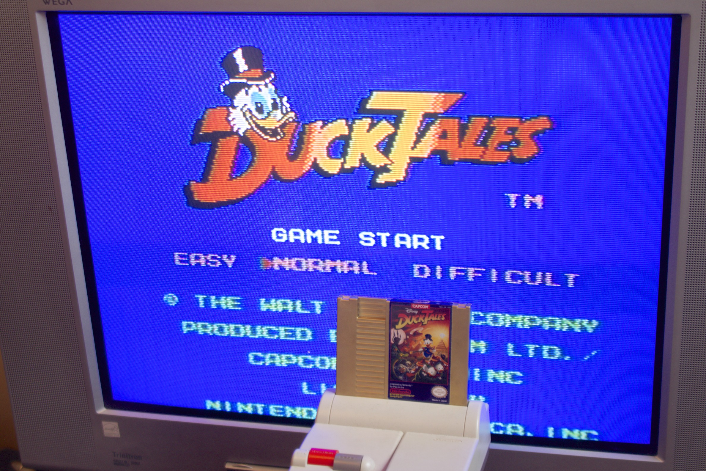 Stylish Desk Capcom Re Issues Nes Ducktales As An Ultra Limited Golden