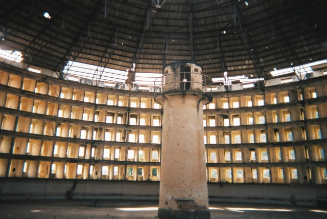 Like this prison in Cuba, the NSA has turned the Internet into a place where the watchmen can see all.