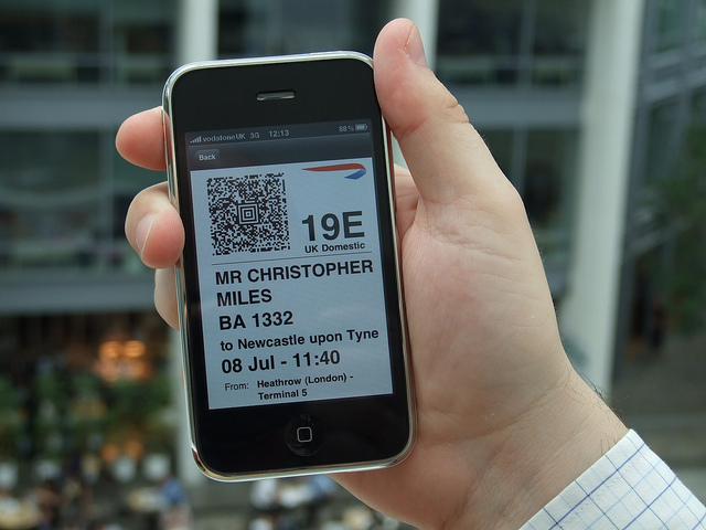 "The app, posing as paper ID. The future of ""apps"" is more about information than presentation."