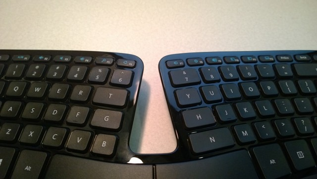 Just look at it! It's like the Grand Canyon of keyboards.